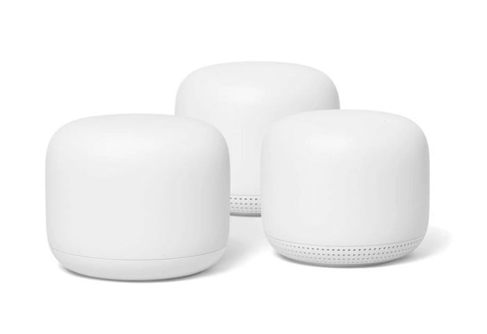 Google Nest WiFi Router and 2 Points